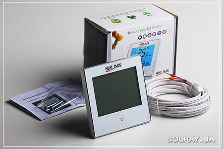 Купить сенсорный программируемый терморегулятор
