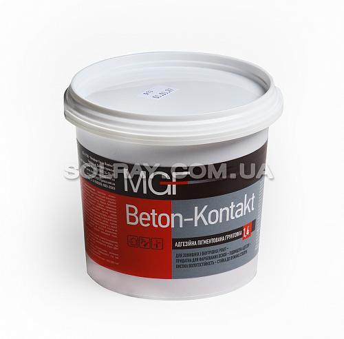 mgf Пигментная грунтовака Бетон-контакт, 1,4 кг